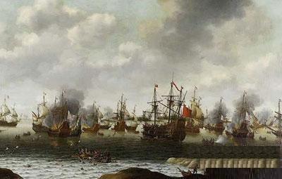 和清朝形成鲜明对比 大明帝国的辉煌-- 料罗湾大海战  交战双方,亚洲