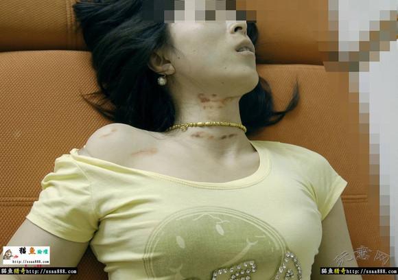 重口味女尸解剖图