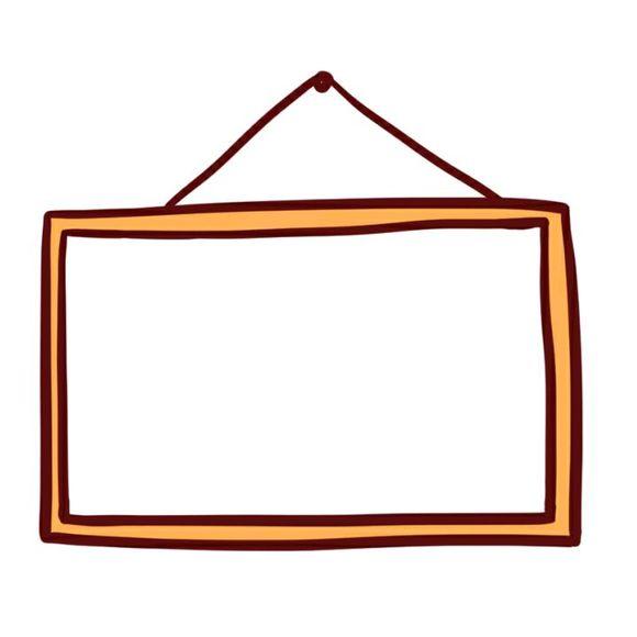 【素材】无字白框素材(杂图)图片