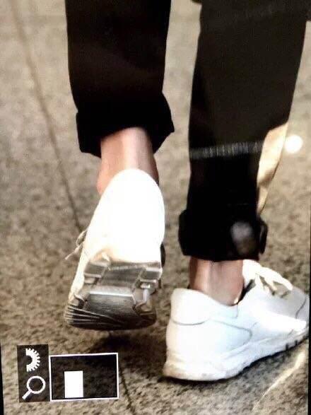 为什么男生穿鞋露脚踝