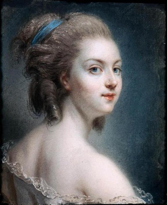 欧洲宫廷公主发型分享展示图片