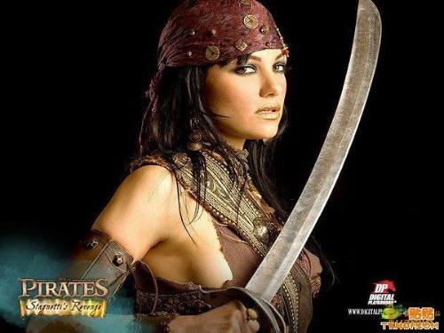 加勒比女海盗演员名字