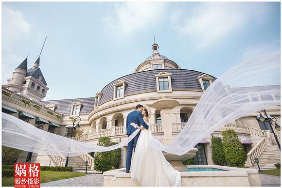 武汉个性婚纱摄影【娲格婚纱摄影】武汉欧洲小镇婚纱照外景图片