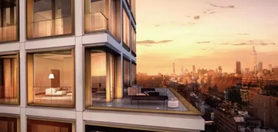 它也是融创合肥壹号院高层建筑外立面设计的蓝本.图片