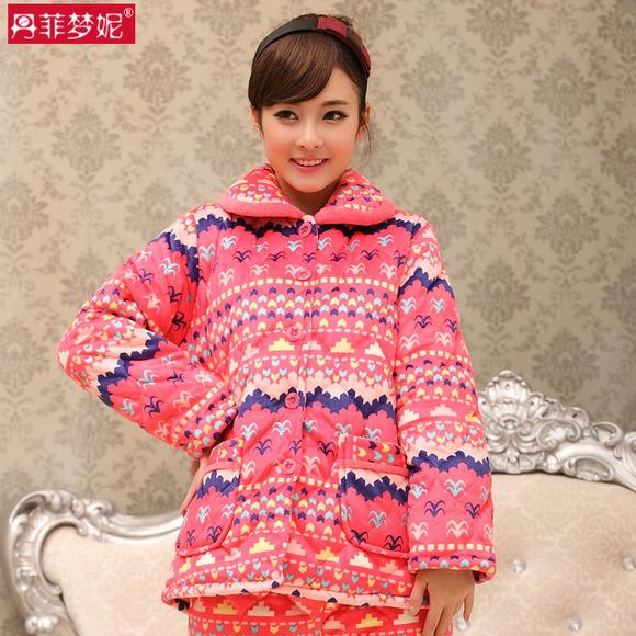 穿丹菲梦妮家居服温暖上网温暖学习 好爽好温暖http://shop336.