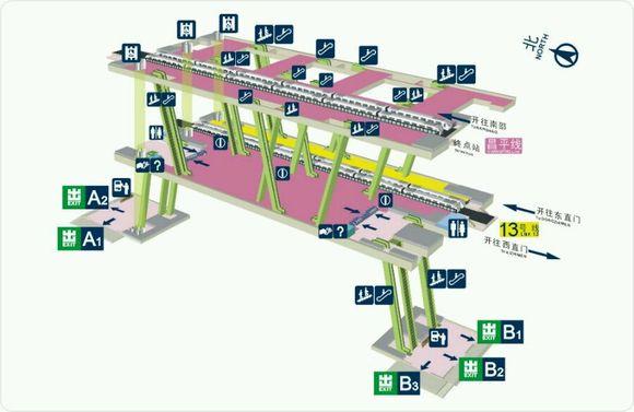 香港地铁换乘�z*_部分换乘站立体图_北京地铁吧_百度贴吧