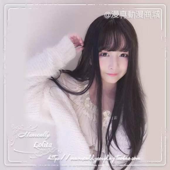 直刘海女生头像分享展示图片
