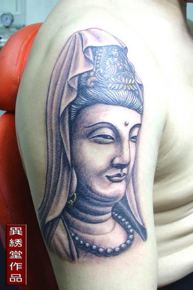 佛像纹身手稿_莆田纹身吧图片