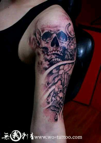 佛山纹身,激光洗纹身,纹身设计 (392x555)图片