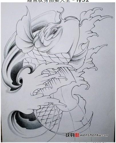 纹身手稿集锦.图片