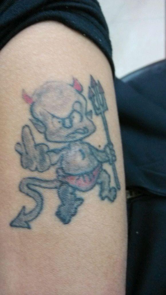 看看我的小恶魔_纹身吧图片