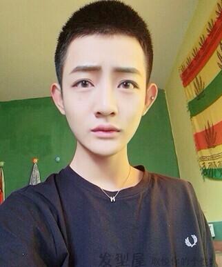 【男生发型】男生卡尺头 最新帅哥卡尺头发型图片图片