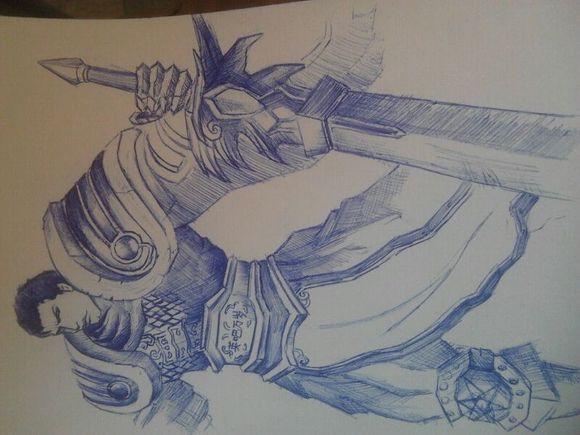 经典英雄人物关公纹身图案第2页图片图片