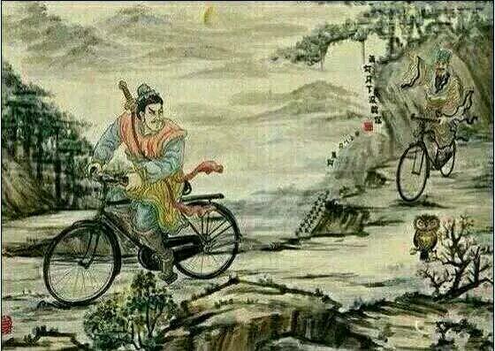 萧何月下追韩信,求鉴.