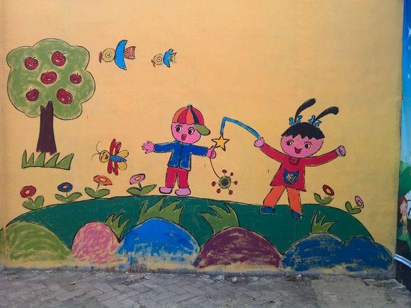 开学第一天儿童画分享展示图片