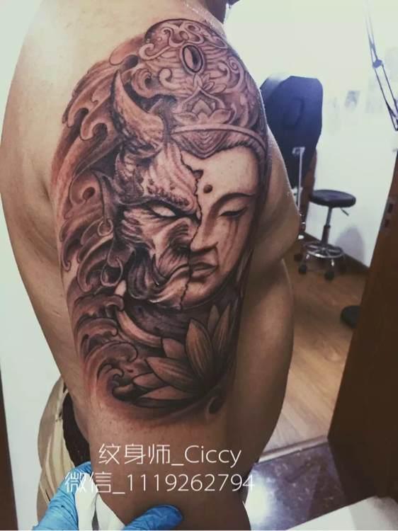 回复:杭州ciccy纹身作品.图片