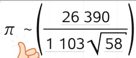 拉马努金这类公式上的数字虽然看上去没什么规律,实际上还是有规