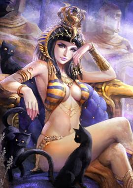 给埃及艳后单独一层