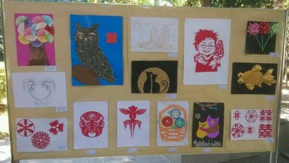 校园美术作品展览图片图片