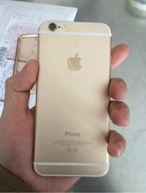 iphone5s换土豪金外壳