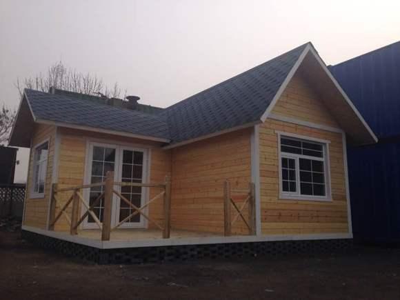 快速拼装式木屋别墅图片