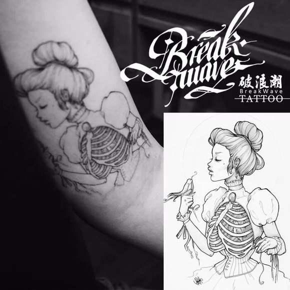 有没有白雪公主的纹身图图片