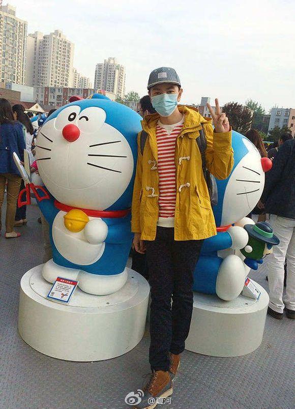 【图片】夏日河灏机器猫【丁泊竣吧】_百度贴吧