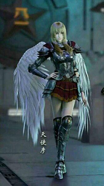 天使左翼护卫彦壁纸