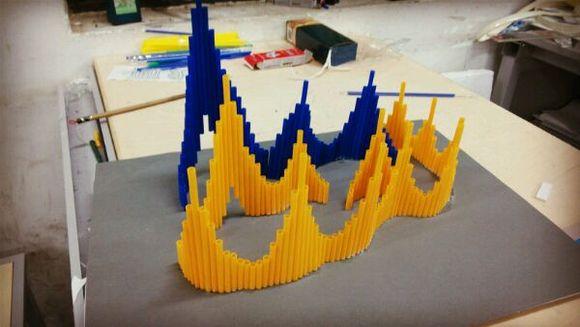 做立体构成模型的目的是什么图片