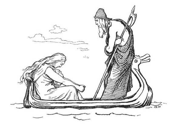 北欧神话人物美图图片