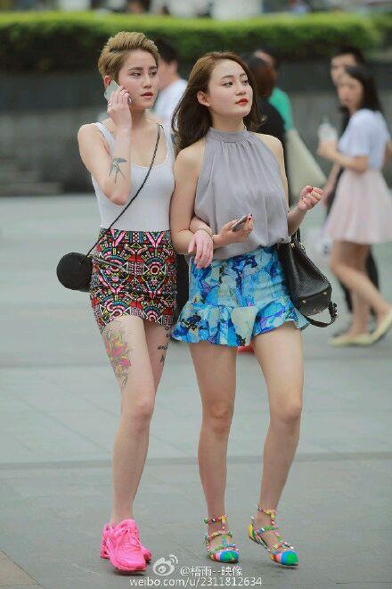 重庆美女街拍2015 重庆美女街拍2015图片 重庆夏季街拍 重庆街拍美女图片