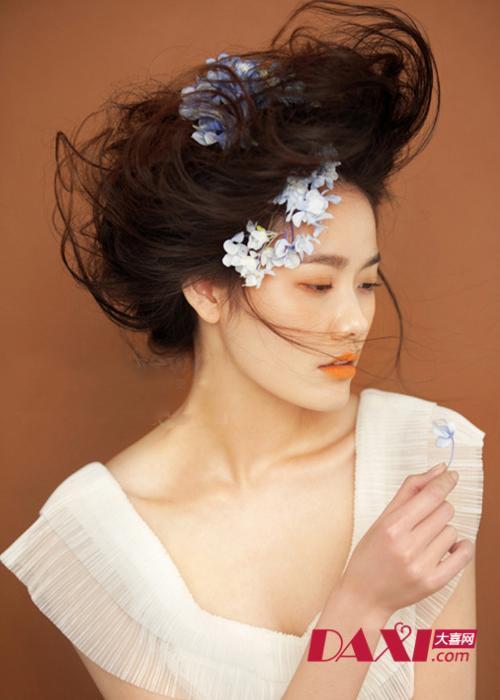 唯美艺术发型图片展示图片
