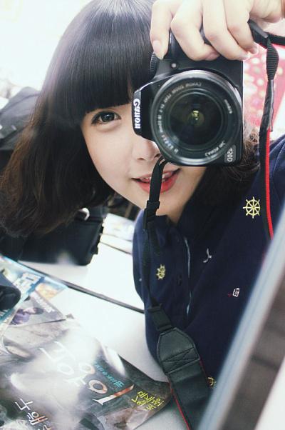﹌短发韩系女图 转自ulzzang吧高清图片