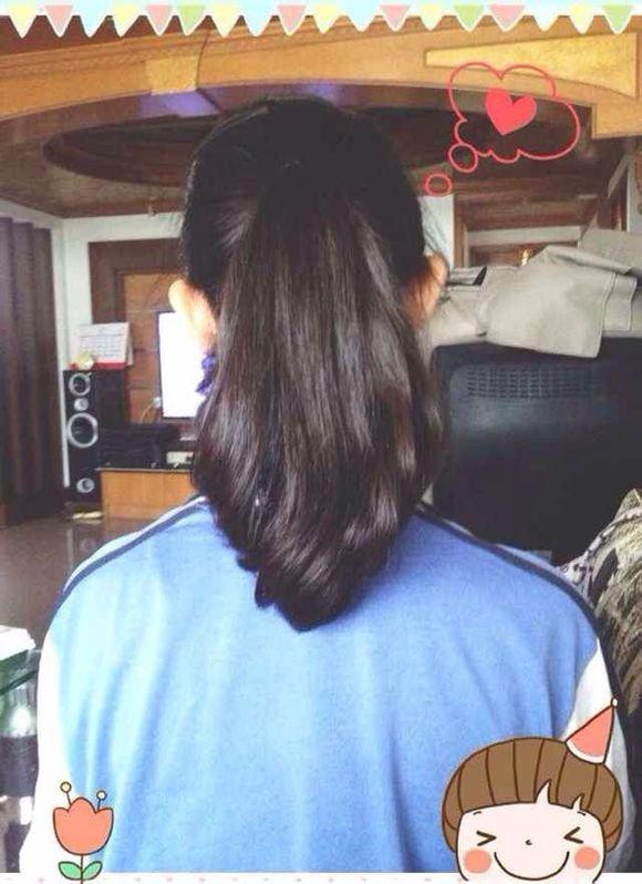 [发型61中系内扣梨花背影大图让你不再为发型发愁]图片