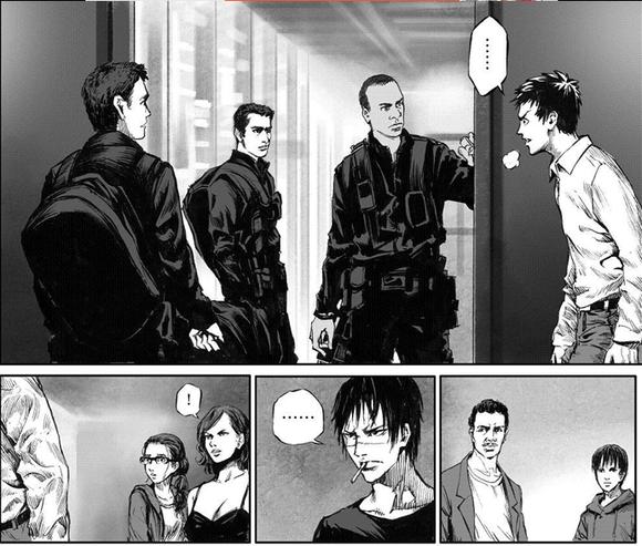 《无限恐怖》(漫画)作者:hyyxrs 小说原作:zhttty你们