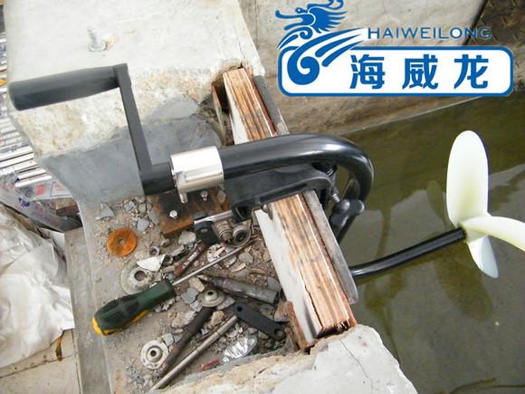 充气船手摇马达推进器手动螺旋桨推进器厂家直销图片