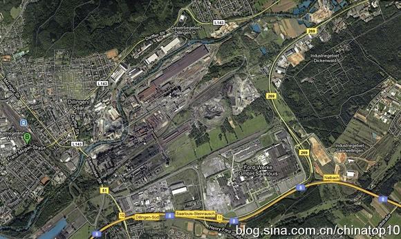 欧美超�z(�9/d�il�.�_德国迪林根(dillingen)钢厂卫星照片