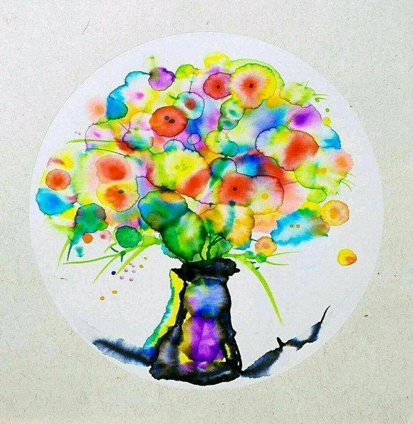 有没有招聘兼职幼少儿创意美术老师的?来一波学生作品图片