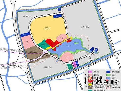 上海迪士尼乐园规划图 高清图片