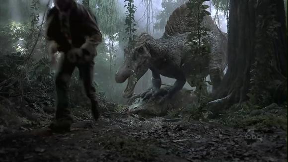 棘背龙vs南方巨兽龙