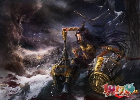 中国古代英雄高达化计划第一弹——李元霸