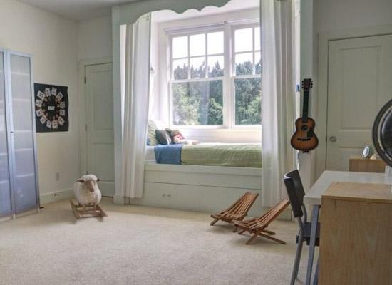 卧室飘窗论+�_卧室飘窗设计改造有何妙招