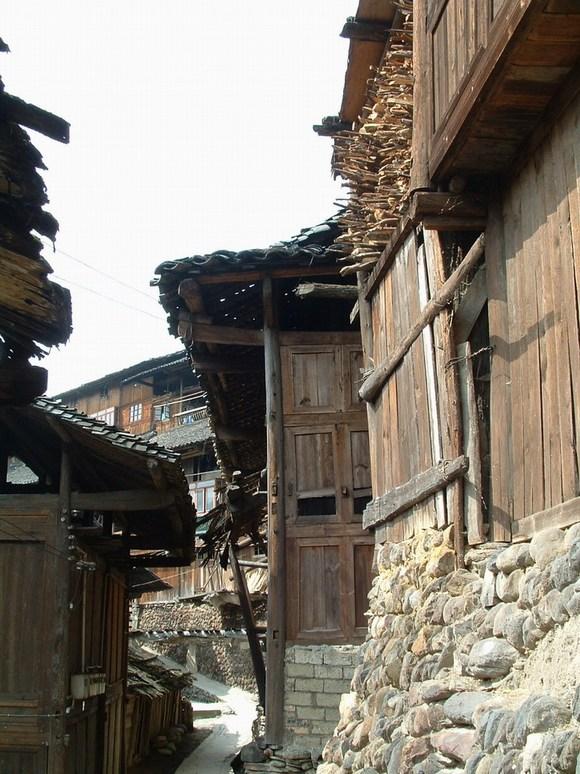 其实我想问的是,中国古代是木房子吧?图片