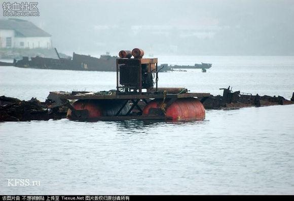废铁党彻底崩溃:俄太平洋舰队垃圾场图片