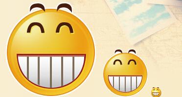 qq经典表情,悠嘻猴大图最全_表情大全图片