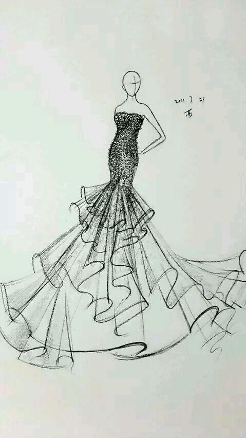 【婚纱 07-22 】那些美腻的婚纱设计图图片