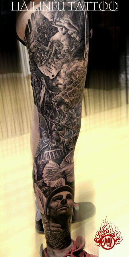 中国世界级纹身师,烈火堂傅海林老师图片图片