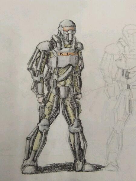 「01-10 游戏讨论」外骨骼设计图,附比伯简图图片