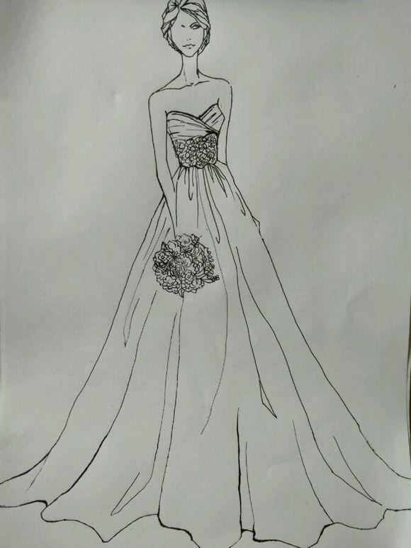 服装设计手稿素描图内容服装设计手稿素描图图片图片
