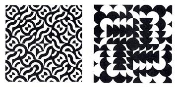 时的照片里找到几何图形的例-重复构成图形 重复渐变构成设计图